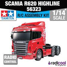 56323 Tamiya Scania R620 6x4 Highline 1/14th R/c Radio Control Kit de montaje