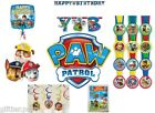 PAW PATROL BOYS PARTY BANNER SWIRLS SCENE BALLOONS HERO LOOT BAGS DECORATIONS