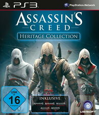 PlayStation 3 juego: ac Heritage Collection ps-3 figuras assassins creed nuevo & OVP
