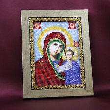 ICONO MADRE DE DIOS MARIA CON JESUCRISTO 23x18 CM HECHO A MANO hecho a mano