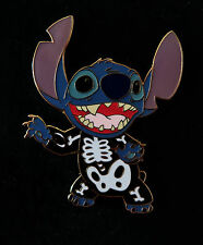 Disney STITCH as A SKELETON LE 125 Halloween Costume Pin New On Card