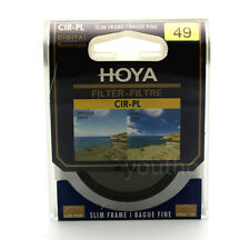 Hoya 49mm CPL CIR-PL Slim Circular Polarizing Digital Filter for Camera Lenses