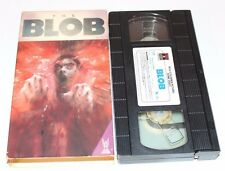 THE BLOB VHS 1988 CHUCK RUSSELL TRISTAR RARE HTF HORROR RCA VINTAGE TAPE