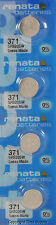 4 pcs 371 Renata Watch Batteries SR920SW FREE SHIP 0% MERCURY