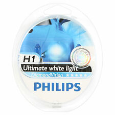 PHILIPS Diamond Vision H1 Xenon-Look Styling Car Headlight Bulb - TWIN PACK
