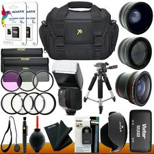 Everything you need Accessory Kit for Nikon D5300 D5200 D3300 D3200 DSLR Camera
