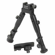 "6"" Tactical Hunting Rifle Picatinny Swivel Stud Mount Bipod BP-59MINI"