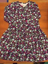 Hanna Andersson Black And Flowered Dress NWOT Size 150