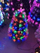 CHRISTMAS TREE -FIBRE OPTIC 60CM MULTICOLOURED -MID YEAR SUPER CLEARANCE SALE!!!