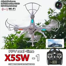 X5SW-1 Black White Wifi FPV Camera Drone 2.4Ghz 4CH RC with 0.3MP Quadcopter RTF