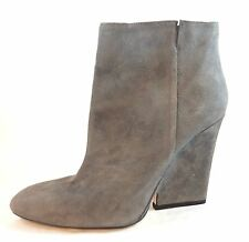 Jimmy Choo Myth Wedge Boots Bootie Grey Suede Size 8 / 38.5 $975 NWT