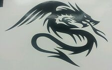 """Chinois dragons tribal - 6"""" × 4"""" vinyle noir coupe voiture decal sticker wall art portable"""
