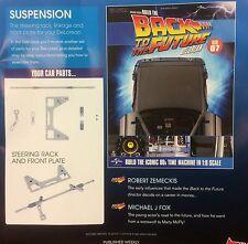 Costruire il ritorno al futuro DeLorean numero #7 1.8 SCALA DIECAST MODELLO 52.7 cm