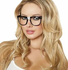 Nerd Glasses with Tape Big Frame Clark Kent Superman Geek School Costume G104