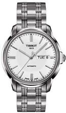 Tissot T0654301103100 Automatic III Mens Watch White Dial Stainless Bracelet