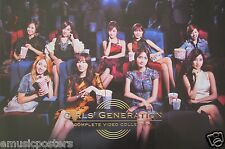 "GIRLS GENERATION ""COMPLETE VIDEO COLLECTION V.2"" ASIAN PROMO POSTER - K-Pop"
