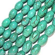 """CHINESE TURQUOISE OVAL BEADS 5X8MM OVAL BEAD 15"""" STRAND"""