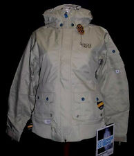 $240 NEW 15.OOOmm SPECIAL BLEND WOMENS INSULATED STEALTH SNOWBOARD JACKET XS