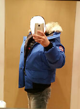 2017 LATEST CONCEPT POLAR BEAR CANADA GOOSE BLUE LABEL PBI CHILLIWACK XL PARKA