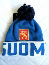 ADIDAS FINLAND ICE HOCKEY WORLD CUP 2016 Canada BEANIE BOBBLE Toque SUOMI