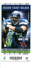 2013 Seattle Seahawks v Cardinals Ticket Super Bowl Champs 17069