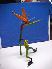 Frogman Paradise Bronze Frog Figurine Statue Sculpture Tim Cotterill Signed