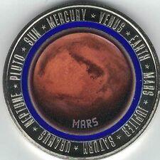 """Sonderprägung """"Mars"""" mit Polymer-Ring - aus der Edition """"Solar System"""""""