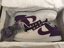 NIKE SB ZOOM TEAM EDITION SZ 10 DEADSTOCK DS GREY PURPLE supreme