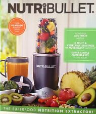 NutriBullet 8-Piece 600 Watt Nutrition Extractor Blender Juicer-120 Volts-New!!!