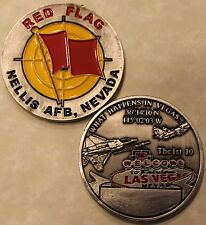 Nellis Air Force Base RED FLAG Challenge Coin