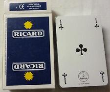 JEU DE 54 CARTES RICARD , LOGO PETIT SOLEIL , OR28