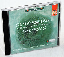 CD Sciarrino complete Piano Works-Masimiliano Damerini