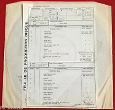 KATE BUSH -Never For Ever- Utra Rare French Test Pressing (Vinyl Record)