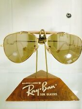 Vintage Ray Ban Bausch and Lomb The General 50th 58mm Mirrored Sunglasses