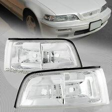 For 1991-1995 Acura Legend JDM 2 Door Chrome Housing Corner Turn Signal Lights