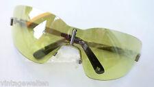 Missoni XXL Sonnenbrille durchgehende Scheibe grün verspiegelt randlos GR:L NEU