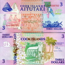 ISOLE COOK - Cook Island - 3 dollars 1992 FDS UNC