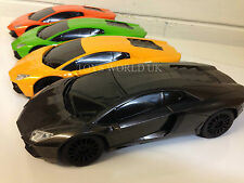 Lamborghini Aventador Radio Remote Control Car LED Lights 1/18 New