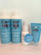 Crack Clean & Soaper Shampoo, Conditioner, Leave In Treatment, & Leave In Mist