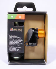 Airace Turbo Micro CO2 Bicycle Tire Inflator Pump with Cartridge