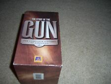 The Story of the Gun (VHS, 4-Tape Set) pistol western History Chanel, 1996 A&E
