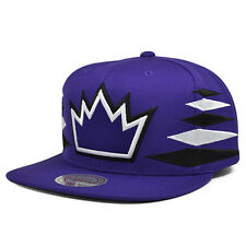 Sacramento Kings VINTAGE DIAMOND Purple SNAPBACK Mitchell & Ness NBA Hat