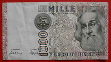 EXCELLENT Italy, One Thousand Lire BANKNOTE, 1982, OE 185963 S
