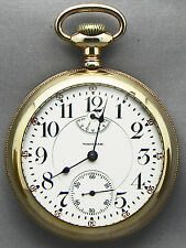 AN EXTREMELY COLLECTABLE 18 Size, 23 Jewel Waltham RR Grade Wind Indicator-1907!