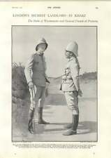 1900 Duke Westminster And General French At Pretoria Boy War Heroes