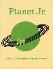 1950s Planet Jr. Tractors and Accessories Catalog -- reprint
