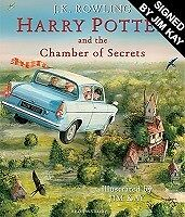Harry Potter and the Chamber of Secrets: Illustrated edition, signed by Jim Kay