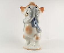 Drei kleine Schweinchen Pfeifer === Walt Disney Porzellan Made in Spain figurine