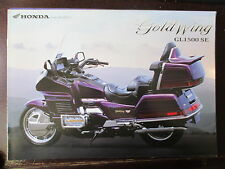 BROCHURE CATALOGUE 1997 MOTO HONDA GOLDWING GL 1500  SE