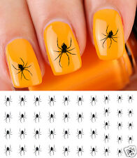 Scary Spider Nail Art Waterslide Decals - Salon Quality! - Great for Halloween!